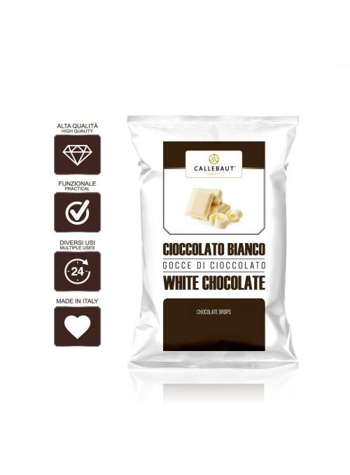 Cioccolato bianco Callebaut
