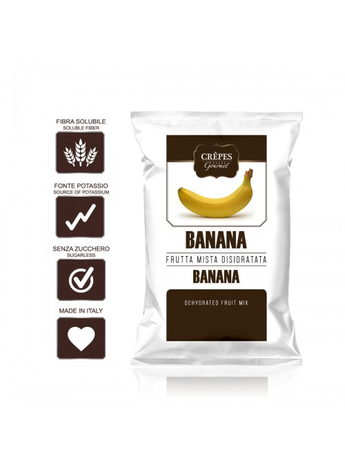 Banana disidratata Crêpes...